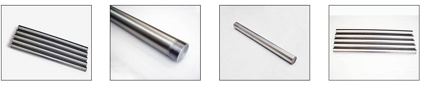 titanium, zirconium, molybdenum TZM Polished Rod