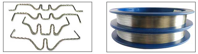 tungsten coiled filament