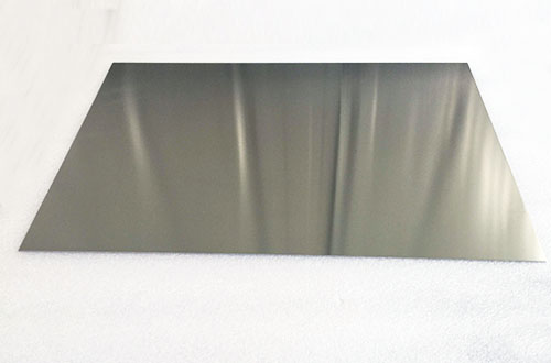 polished tungsten sheet